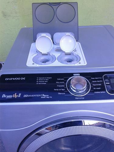 lavadora y secadora dos daewoo