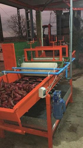 lavadoras cepilladora enceradoras de papas y frutas