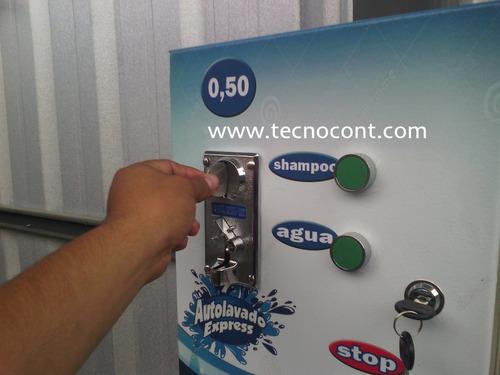 lavadoras de carros con monedas, autolavado expres, máquinas