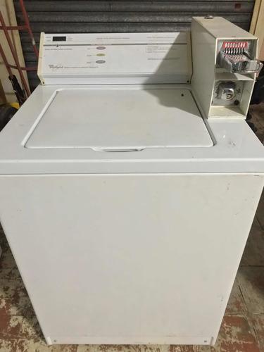 lavadoras industriales marca whirlpool de monedas 4 en 1,400