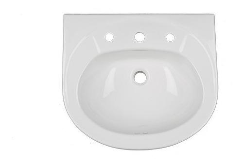 lavamano pompano venceramica con pedestal sin la llave