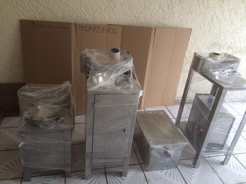 lavamanos acero inoxidable portátil color acero envio gratis