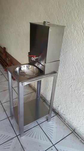 lavamanos acero inoxidable  portátil envio gratis plateado
