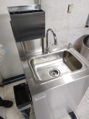 lavamanos autónomo portátil