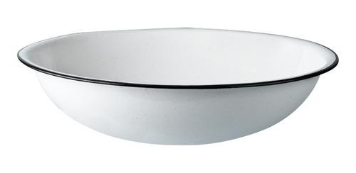 lavamanos bowl para preparar extra grande de peltre 40cm