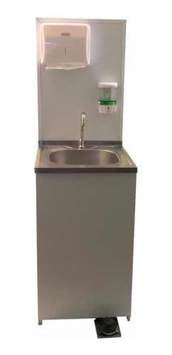 lavamanos con sensor portátil y autónomo