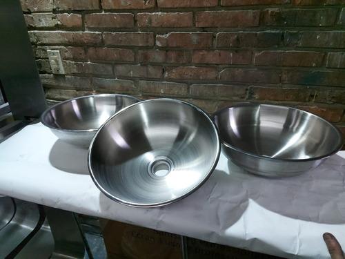 lavamanos de sobreponer en acero inoxidable