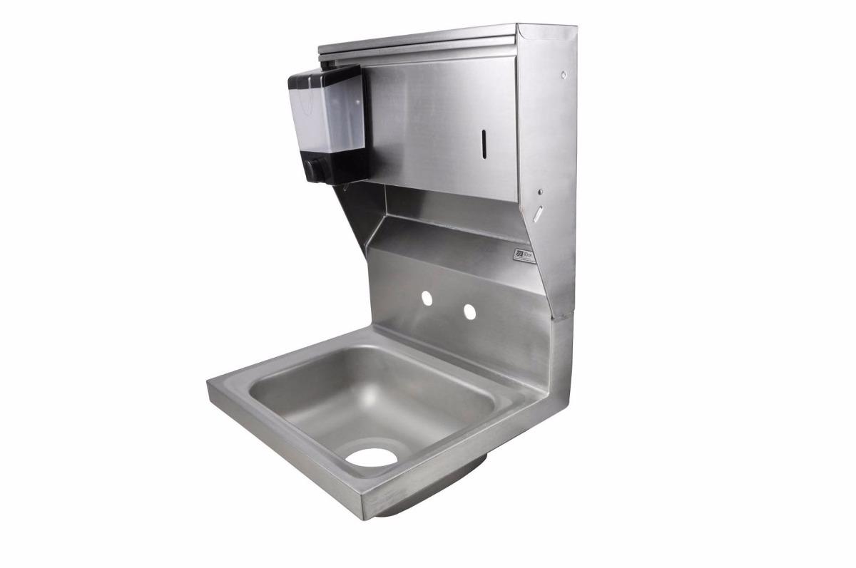 Lavamanos lavabo tarja fregadero acero inoxidable for Lavamanos empotrados