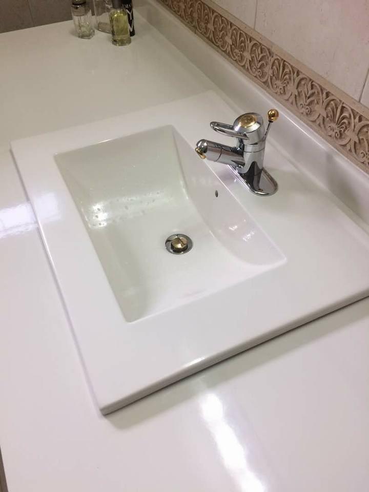 Lavamanos lavabos cuarzo ba o sobre tope empotrar for Precio de lavamanos