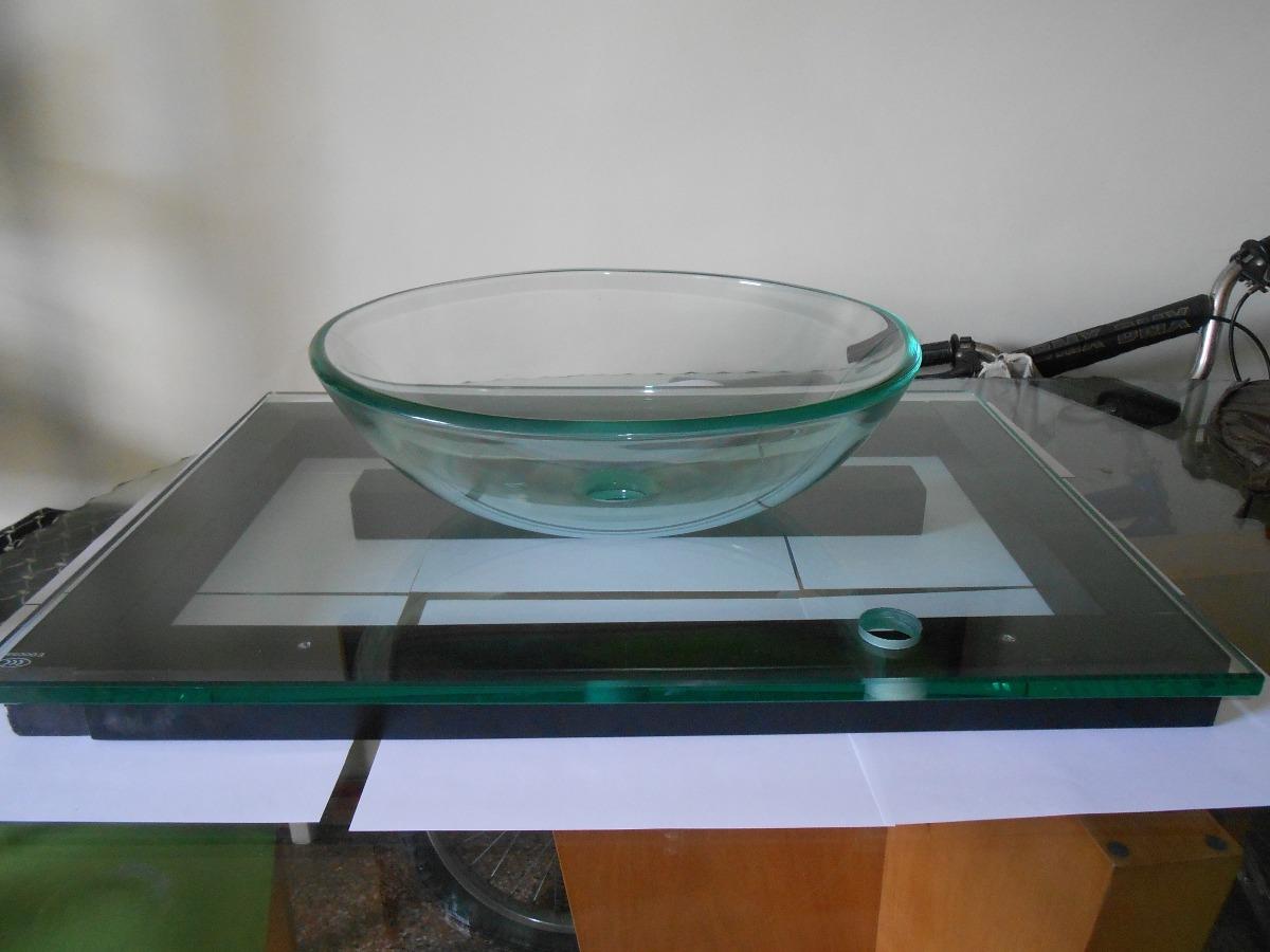 Lavamanos moderno de vidrio transparente bs for Lavamanos de cristal