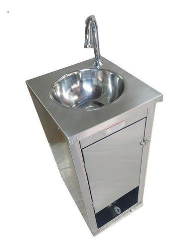 lavamanos para cumplir con los protocolos de bioseguridad