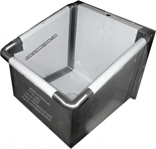 lavamanos, ponchera especial. en acero 100%  inoxidable