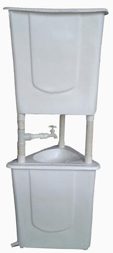 lavamanos portátil de 70 litros.