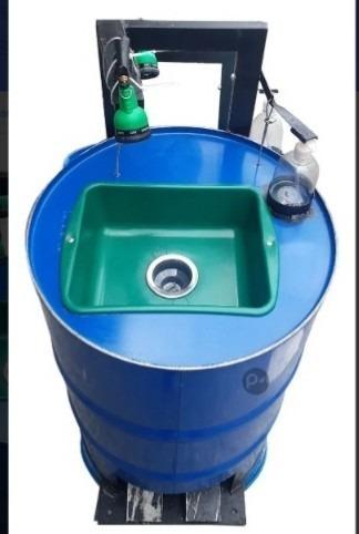 lavamanos portátil manos libre con dispensador de jabón
