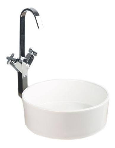 lavamanos redondo sobreponer de lujo venceramica sin llave