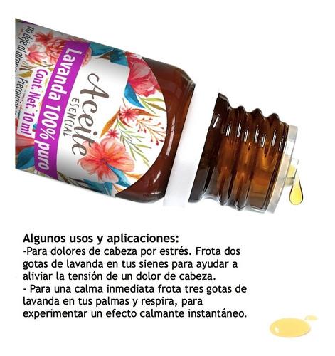 lavanda 10 ml aceite esencial 100% puro