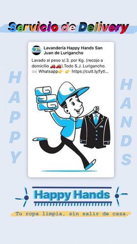 lavandería happy hands en san juan de lurigancho