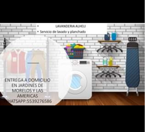 lavandería y planchaduria