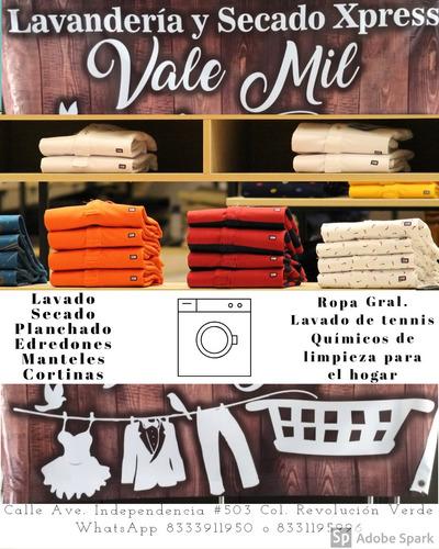 lavandería y secado  xpress valemil