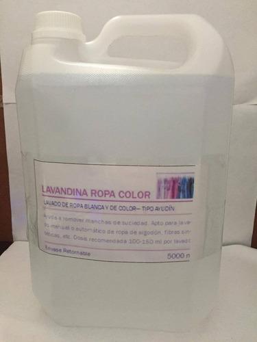 lavandina ropa color x 5 litros - la plata - caballito