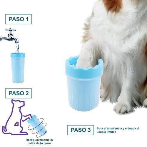 lavapatas - limpia patas para mascotas, talla s