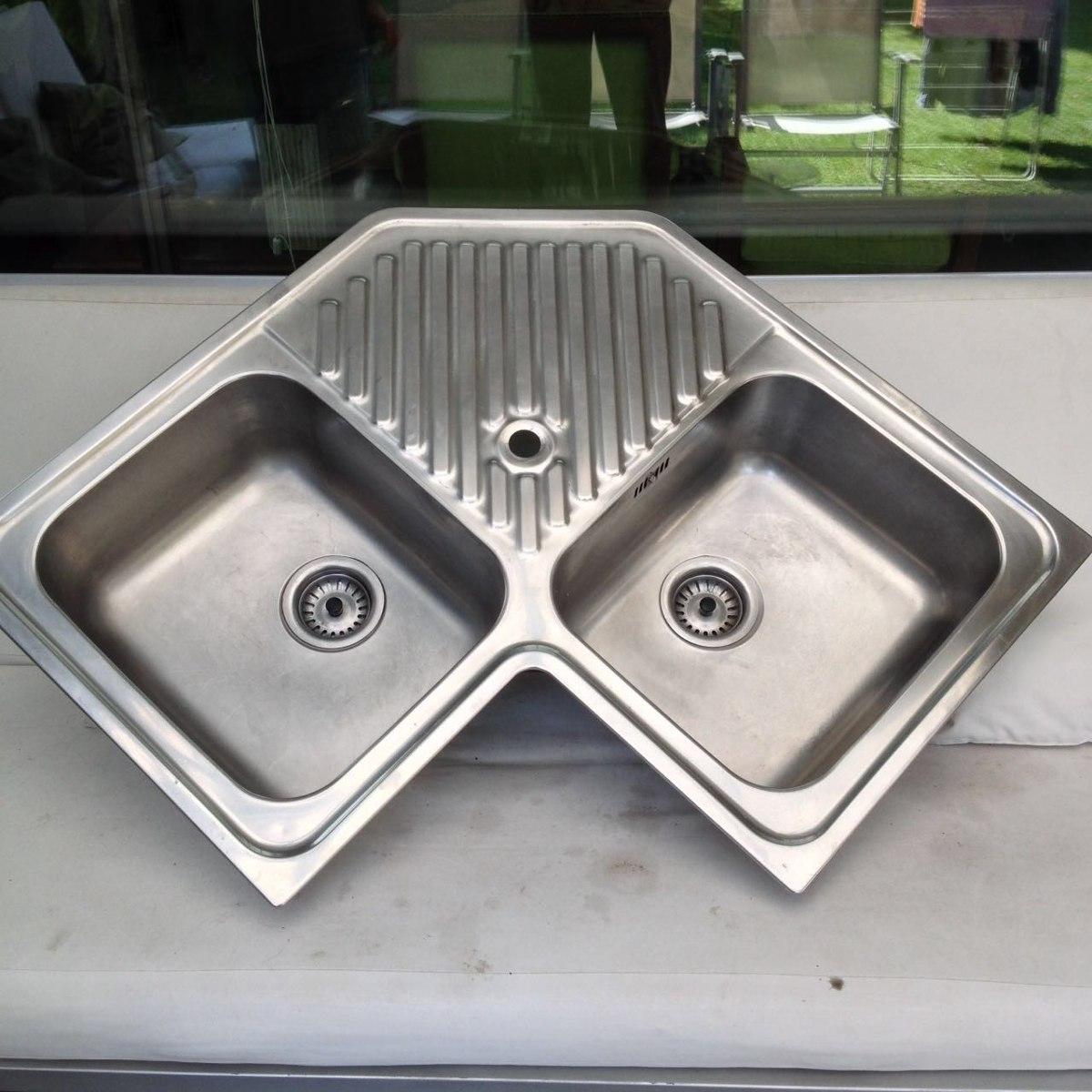 Lavaplatos acero 2c 1e classic angular teka impecable - Modelos de fregaderos ...