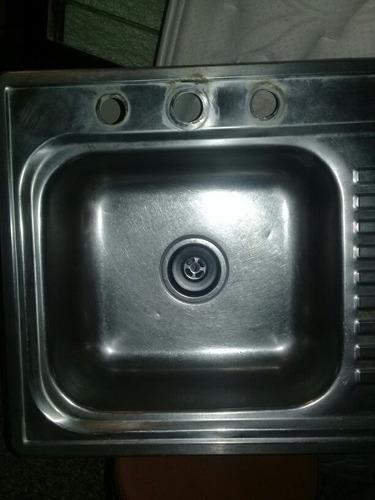 lavaplatos de aluminio usado