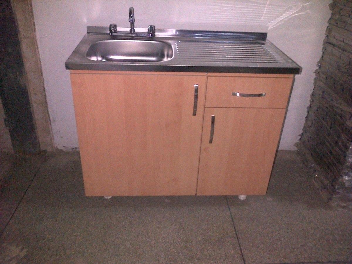 Lavaplatos fregadero 100x50 fanainox sobreponer bs 22 - Fregaderos de granito para cocina ...