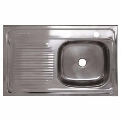 lavaplatos sobreponer  80*50 izq. o der./ muebles sarmientos