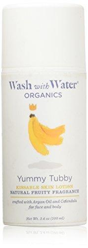 lavar con agua todo el cuidado de la piel orgánico natural
