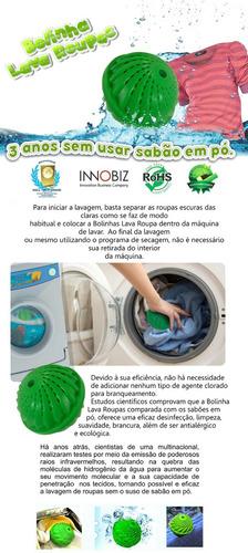 lavar roupas sem sabao