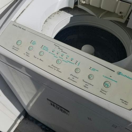 lavarropa eslabón de lujo - funciona con fallas