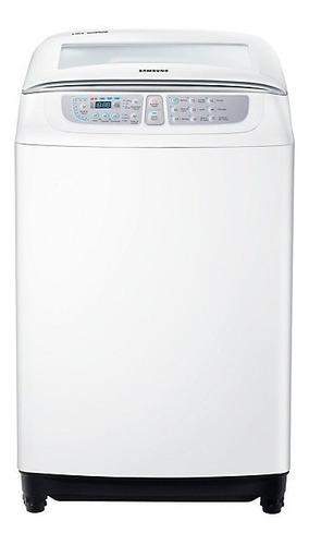 lavarropa samsung 8 kg carga superior wa80f5s4utw  blanco