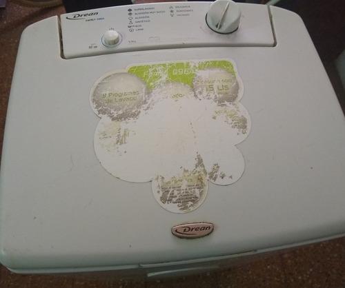 lavarropa semiautomatico drean