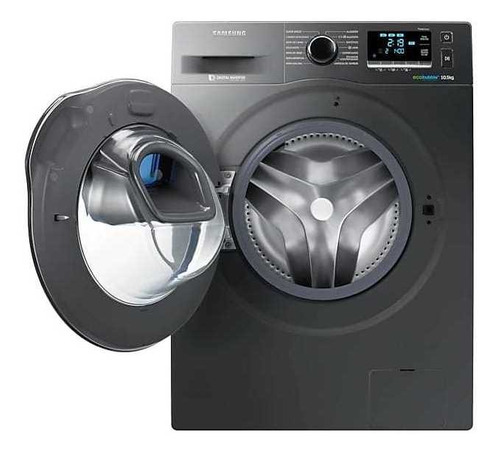 lavarropas 10,5kg digital inverter con addwash, ww10k6410