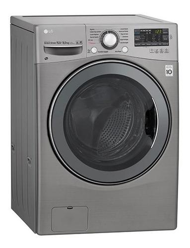 lavarropas 11kg / secarropas 7kg lg wd11dbs6 - g. oficial lg
