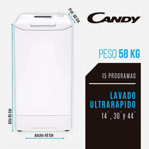 lavarropas automát 1000rpm 6kg touch candy vita106t12 env *4