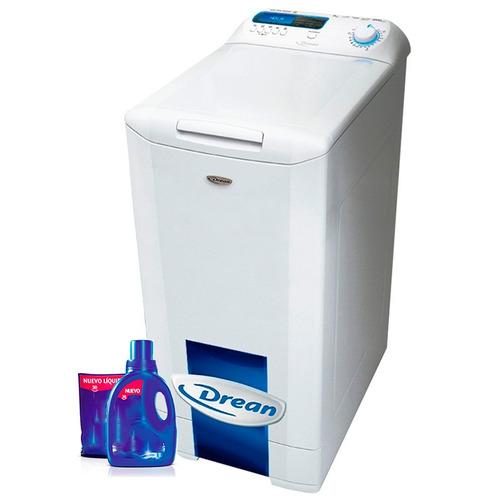 lavarropas automático drean blue 10.8 8 kilos