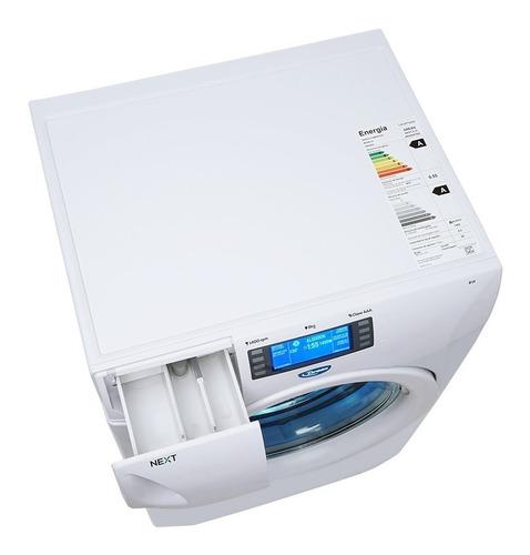 lavarropas automatico drean next 8.14 8kg selectogar