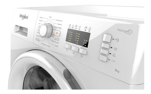 lavarropas automático whirlpool 6 kg wlf600b