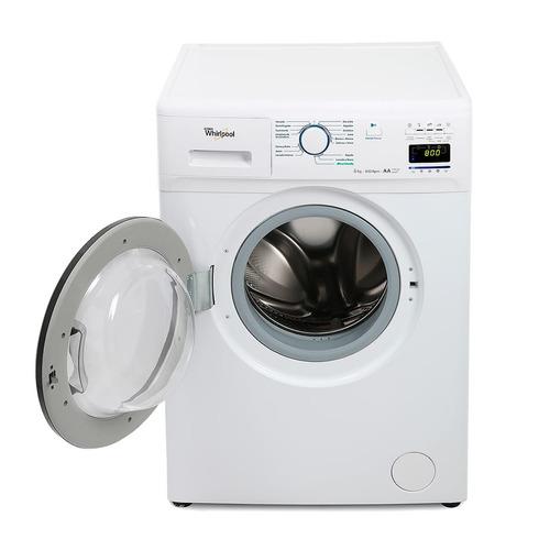 lavarropas automatico whirlpool c/frontal 6kg wnq-66 blanco