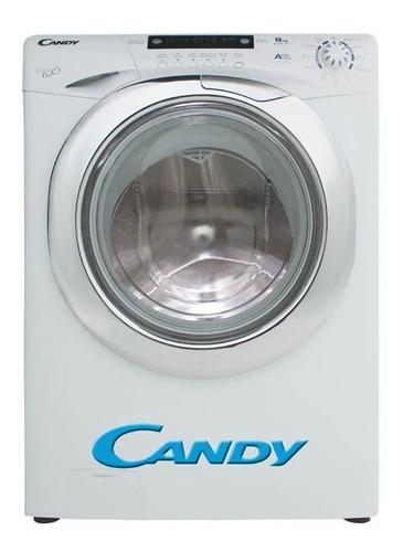 lavarropas candy carga frontal gv128t 8kg 1200rpm