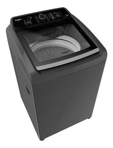 lavarropas carga superior 10kg whirlpool wwg16cs silver inox