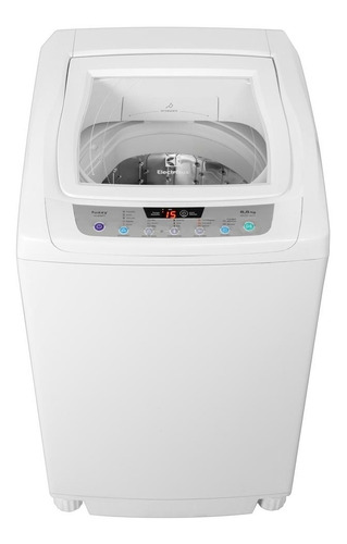 lavarropas carga superior electrolux fuzzywash blanco