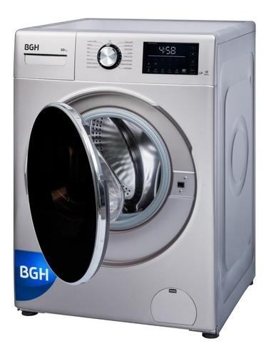 lavarropas de carga frontal inverter 10 kilos bgh bwfi10s18