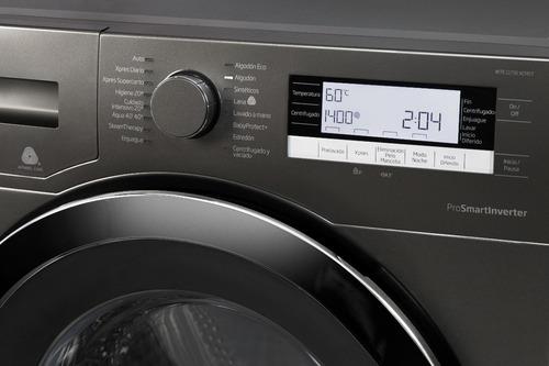 lavarropas de carga frontal inverter 11 kilos beko wte11735xcmst