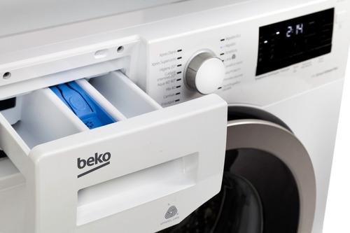 lavarropas de carga frontal inverter 8 kilos beko wtv8633xs