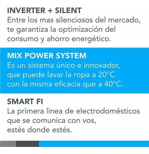 lavarropas smart candy gvf14115 11,5kg 1400rpm wifi **10