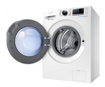 lavasecadora samsung de 10,5 kg carga frontal wd10j blanca
