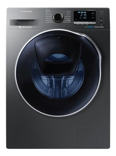 lavasecarropas 10kg/6kg digital inverter con addwash y airwa